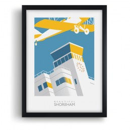Shoreham Airport Art Print