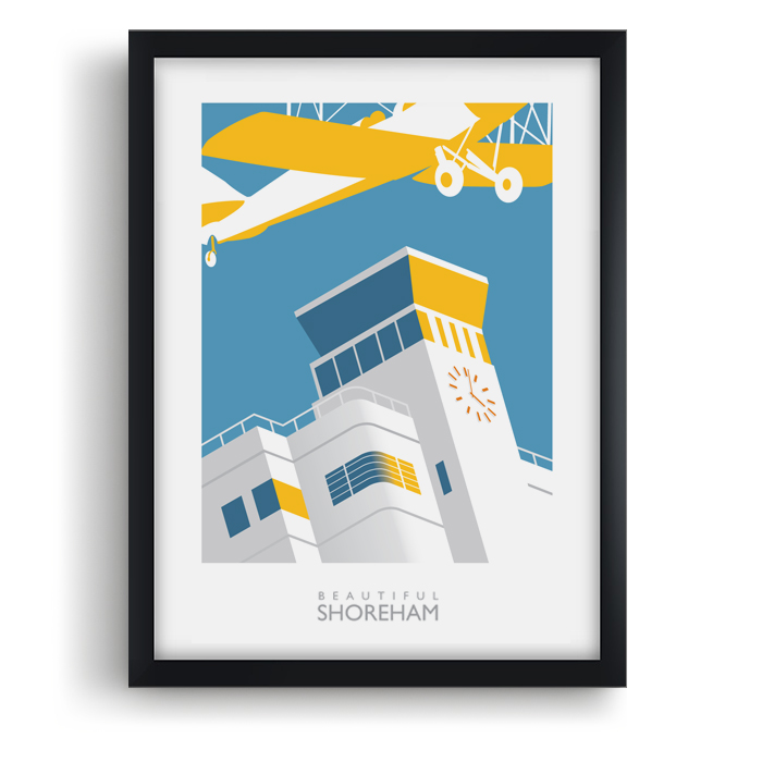 Shoreham Airport Art Print