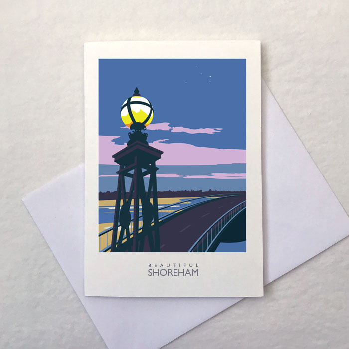 Norfolk Bridge Greetings Card