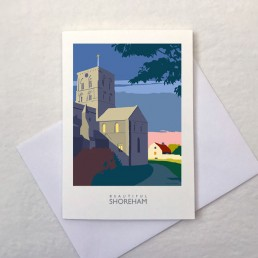 St Mary de Haura Greetings Card